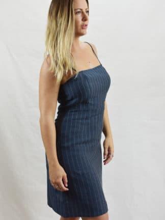 Karis Mini Linen Dress