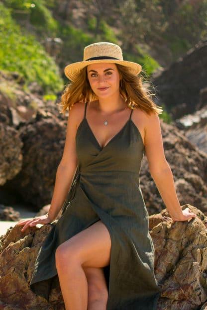Jazmin Premium Linen Dress