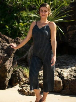 Milah Linen Jumpsuit