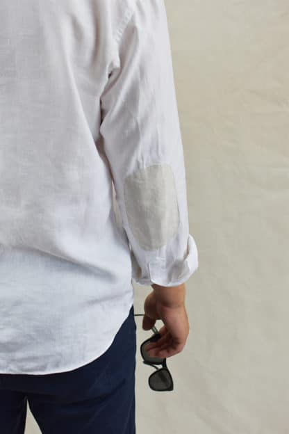 Extra strength and stylish sleeve on our 100% Pure Linen Shirts