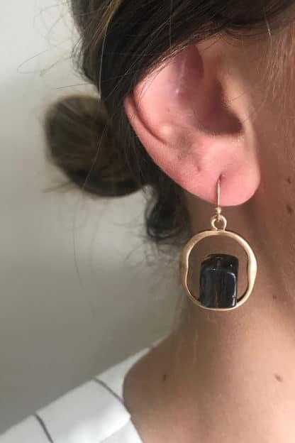 Vintage Gem Earring