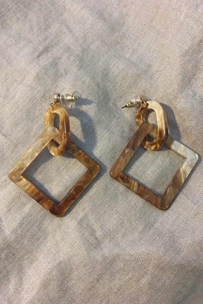 Geometric Duo Earrings