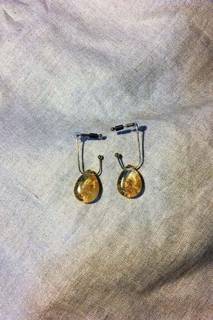 Teardrop in Stone Earrings