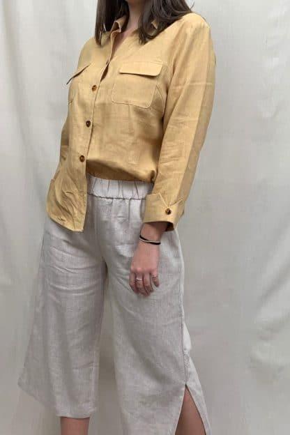 Kamili Womens Linen Shirt is the Perfect Womens Shirt