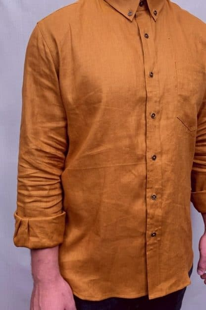 Mens linen shirts are a comfortable fit in Australia.